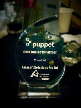 Net One Asia awarded Gold Business Partner in Puppet Partners Day 2018